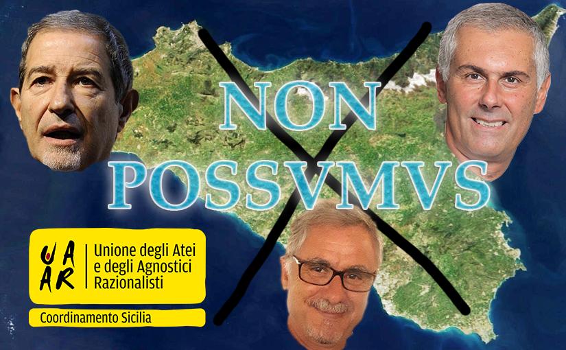 """Sicilia 2017, i """"NON POSSUMUS"""" laici alla vigilia del voto"""