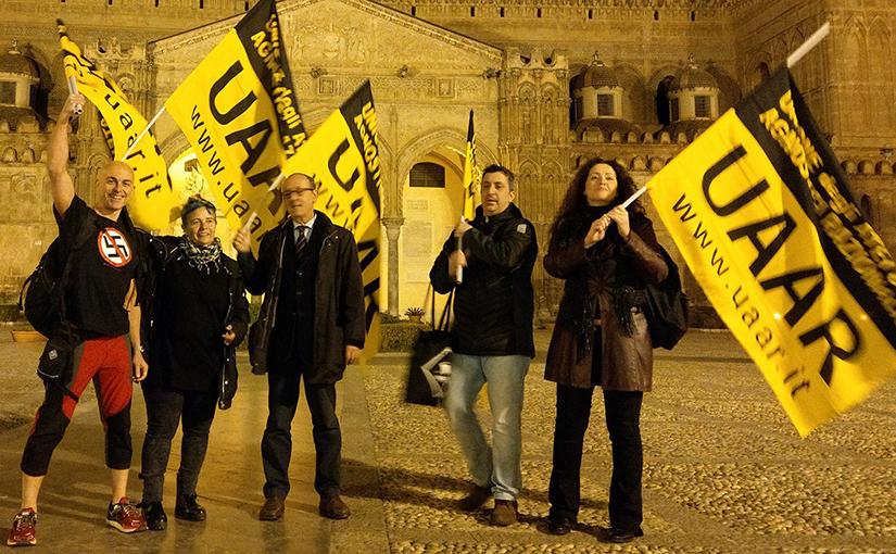 UAAR Palermo con ANPI in piazza contro i fascismi sabato 24 febbraio