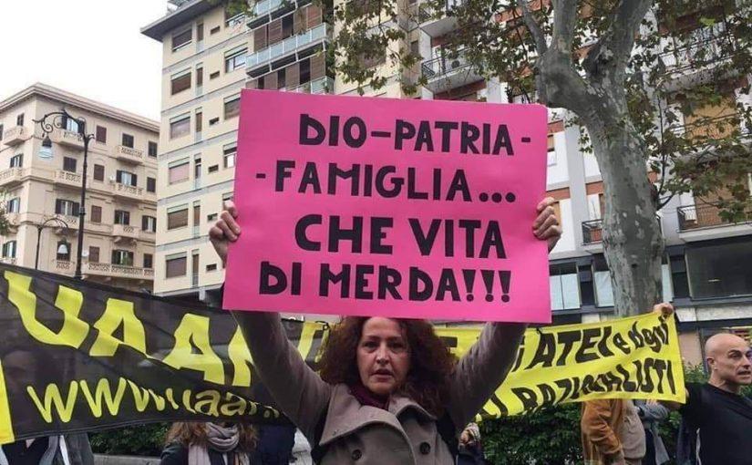 L'8 marzo laico dell'UAAR di Palermo
