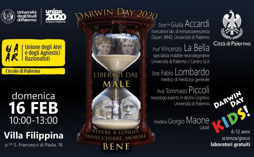 A Palermo il Darwin Day 2020 è formato famiglia
